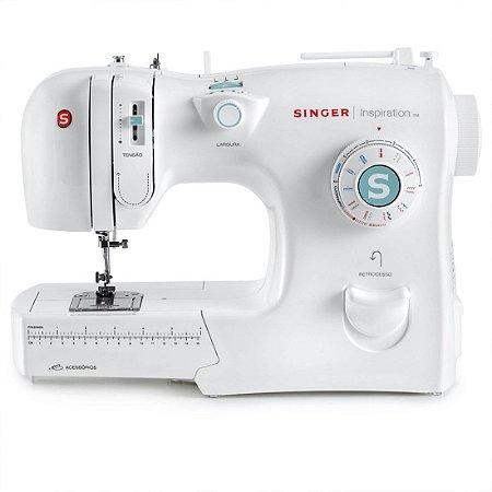 Máquina de Costura Singer Inspiration 4218 18 Pontos 127 Volts Branco [4218]