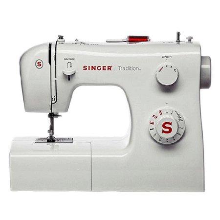 Máquina de Costura Singer Tradition 2250 09 Pontos 127 Volts Branco [2250]