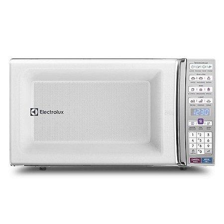 Microondas Electrolux 34L de Bancada com Função Tira Odor e Manter Aquecido Trava de Segurança Branco 127 Volts [MEO44]