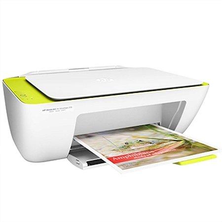 Multifuncional HP DeskJet Ink Advantage Impressora Copiadora e Scanner Branca [Ink Advantage 2136]