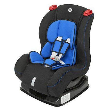 Poltrona Para Auto Nova Atlantis Preto e Azul Tutti Baby