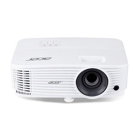 Projetor Multimídia Acer 3600 Lumens SVGA Entradas HDMI VGA e MHL Branco [P1150 3600 ANSI]