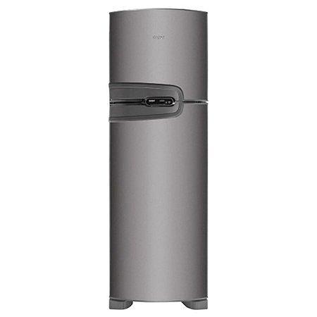 Refrigerador Duplex Consul 275L Frost Free 220 Volts Classe A Inox [CRM35NKBNA]