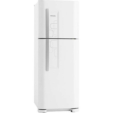 Refrigerador Electrolux 475L 2 Porta Cycle Defrost Prateleiras de Vidro Temperado Classe A 127 Volts Branco [DC51]