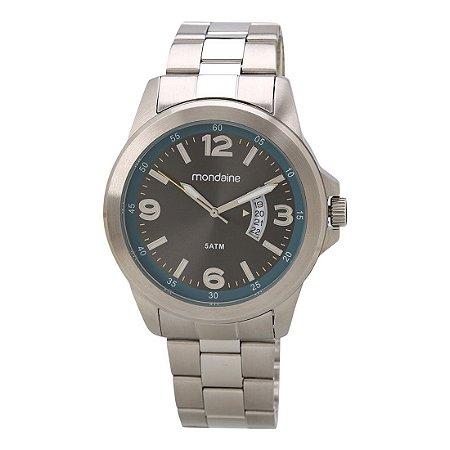 Relógio Masculino Mondaine Analógico Resistente Água Prata [78700G0MVNA1]