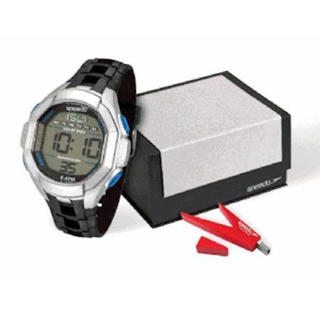 Relógio Masculino Speedo Digital + Pen Drive Poliuretano PU Preto [81106G0EKNP3K2]