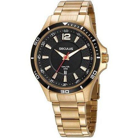 Relógio Seculus Masculino 77033gpsvda1