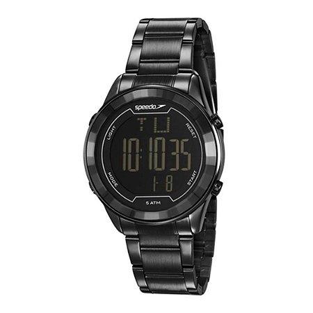 Relógio Speedo Feminino Digital Preto