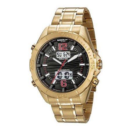 Relógio Speedo Masculino Dourado