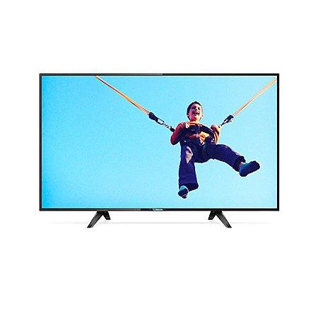 "Smart TV 32"" LED Philips Slim HD 3HDMI 2USB YouTube Netflix Aplicativos on-line Preta [32PHG5102/78]"