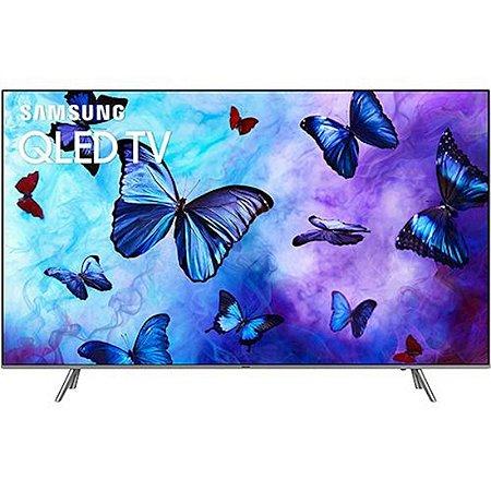 """Smart TV QLED 55"""" Samsung 2018 Ultra HD 4k com Conversor Digital 4 HDMI 3 USB Wi-Fi 120Hz Modo Ambiente e Pontos Quânticos [QN55Q6FNAGXZD]"""