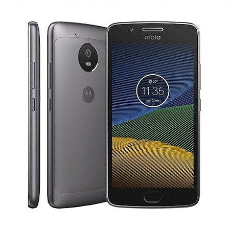 "Smartphone Motorola Moto G5 Cinza Processador Octa-Core Tela 5.0"" RAM 2GB Memória Interna 32GB"