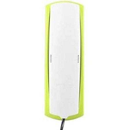 Telefone Intelbras com Fio TC20 Com Teclado Luminoso Mesa ou Parede Cinza Ártico/Verde
