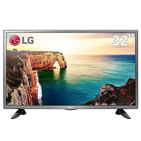"""TV 32"""" LED LG Game HD 2HDMI 1USB Conversor Digital Integrado Preta [32LJ520B]"""