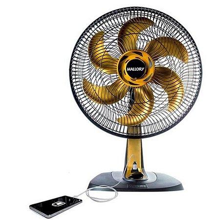 Ventilador 40cm TS40 Gold USB - Mallory