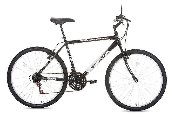 Bicicleta Houston Foxer HA MMER Aro 26 Cor Preta