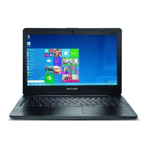 Notebook Legacy Intel Dual Core Windows 10 4Gb Tela Hd 14 Pol. Preto Multilaser - PC201