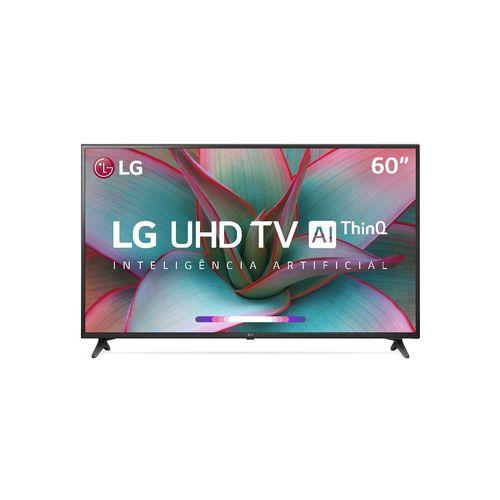 Smart TV Led 60'' LG 60UN7310 Ultra HD 4K AI Conversor Digital Integrado 3 HDMI 2 USB WiFi