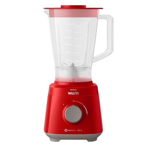 Liquidificador Philips Walita Daily Ri2110/41 Copo De Plástico 2 Velocidades + Pulsar Vermelho