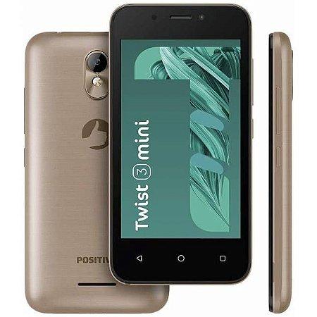 Smartphone Positivo S431B TWIST Mini 16GB, Dual Chip, Android Oreo, Processador
