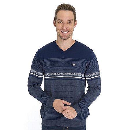 Blusa Tricot Slim Listrada
