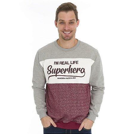 Blusa Moletom Super-herói