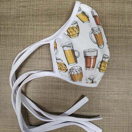 Máscara Poliéster Cerveja
