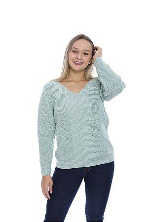 Blusa de Tricot Candy Color - Menta