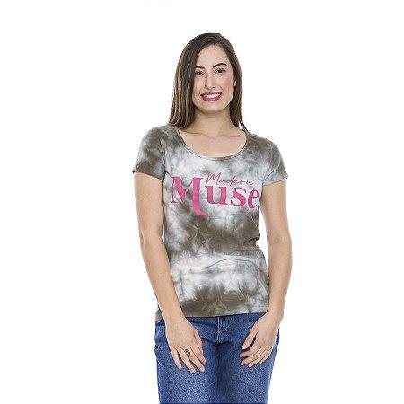 Blusas Verão  Algodão Tie Dye Modern Muse