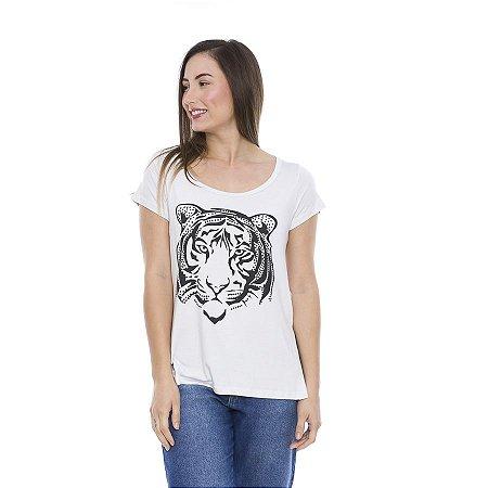 Blusa Verão Feminina  Long Tiger