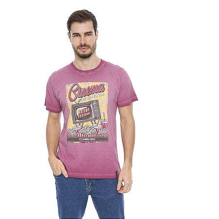 Camiseta Verão Estampada Retro