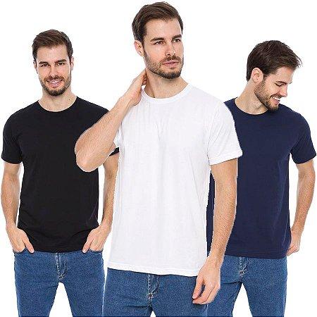 Kit 3 Camisas Básicas Maré D Água