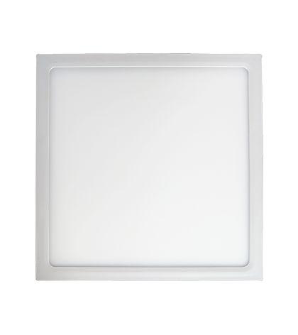 Plafon de sobrepor LED 24W 6500K - 28,3 x 28,3cm