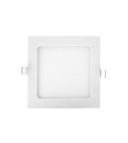 Painel embutido LED 12W - 4000K - 16,7 x 16,7cm