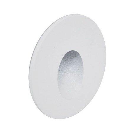 Mini Balizador embutido 3960C-S Branco Led 0,75W - 2700K