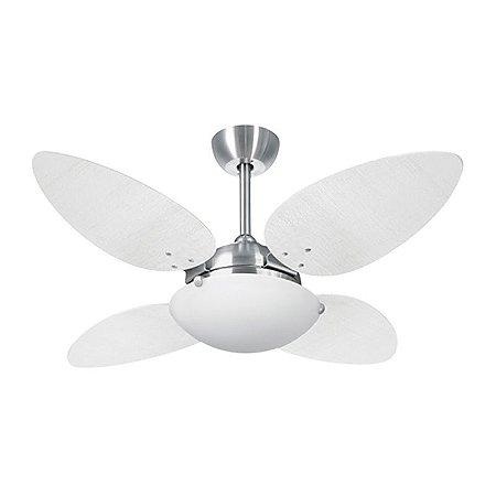 Ventilador  60554 Escovado/Branco 127V