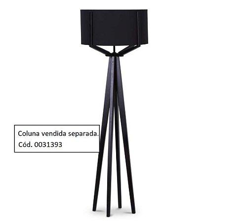 Cúpula para Luminária de Piso 176-02 Preta