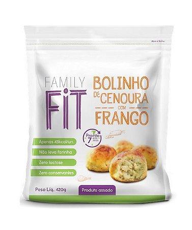 BOLINHO DE CENOURA COM FRANGO 420g