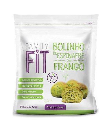 BOLINHO DE ESPINAFRE COM FRANGO 420g