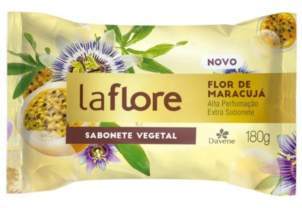 Sabonete Vegano Davene La Flore Maracujá 180g