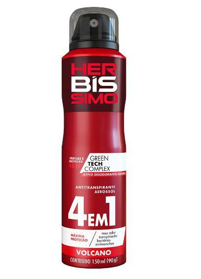 Desodorante Vegano Aerosol Herbissimo Volcano 150ml