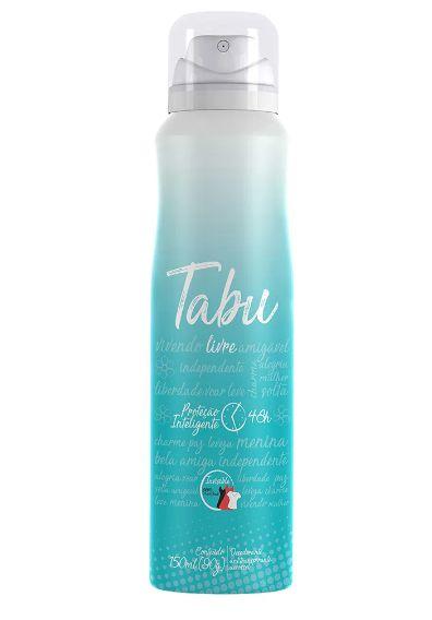 Desodorante Vegano Aerosol Tabu Livre 150ml