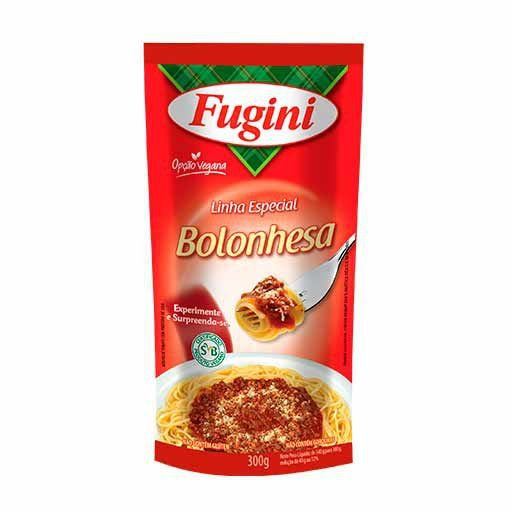 Molho Bolonhesa Vegano Fugini 300g
