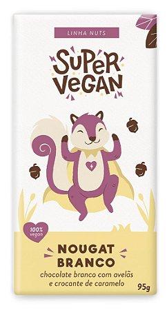 Chocolate Branco Super Vegan Nougat 95g