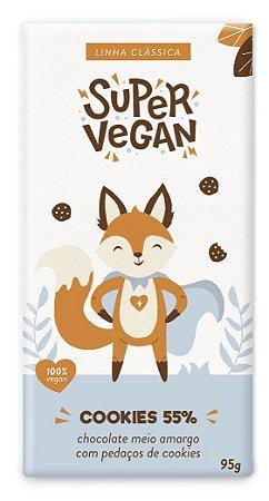 Chocolate Super Vegan Cookies 55% 95g
