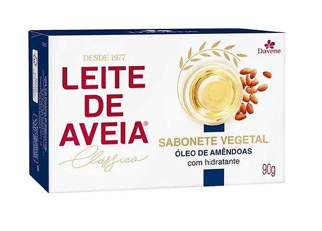 Sabonete Vegano Davene Leite de Aveia com Oleo de Amendoas 90g