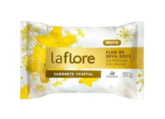 Sabonete Vegano Davene La Flore Erva Doce 180g