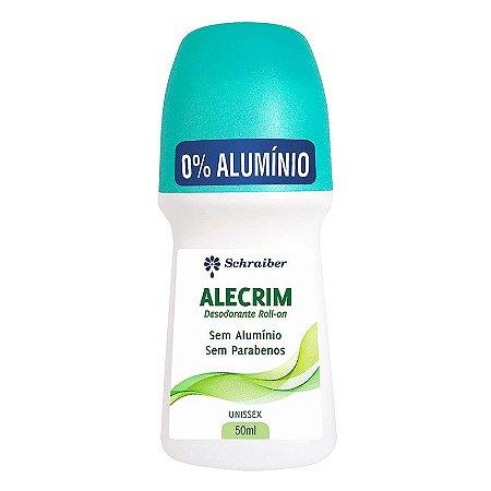 Desodorante Vegano Sem Alumínio Alecrim Roll-on Schraiber 50ml