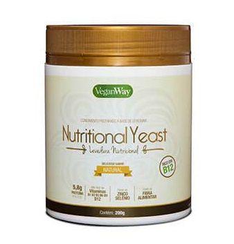 Nutritional Yeast Levedura Nutricional Natural VeganWay  200g