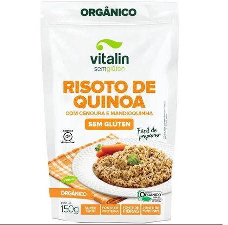 Risoto Organico de Quinoa, Cenoura e Mandioquinha 150g